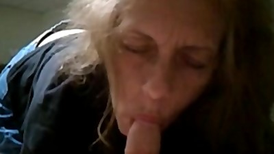 Grandma sucking
