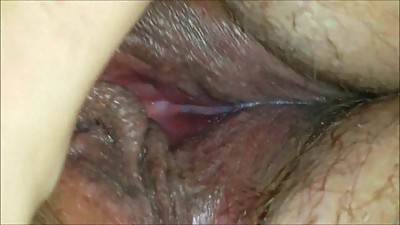 Horny MILF playing with her wet vagina