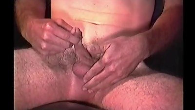 Mature Amateur Ted Jacking Off