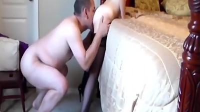 Me and my wife on webcam -..