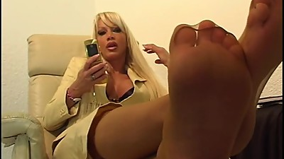 German Diva Feet Worship