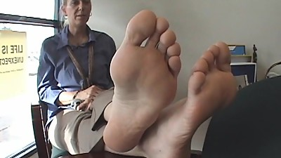 Sexy German Sole Tickle