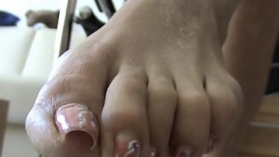 sexy long toenails 1