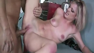 Thin Blonde MILF Jasmine