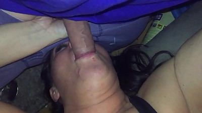 Ex wife sucking my dick
