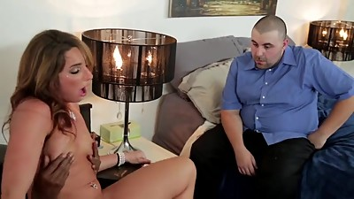 SEXY MILF BRINGS HOME HUGE BBC TO FUCK..