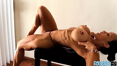 Denise Masino Stretching Turns Me On..