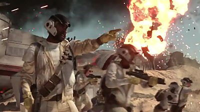 Star Wars Battlefront: Battle of Jakku..