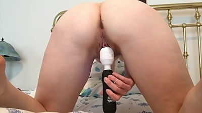 my solo with creamy hairy pussy and..