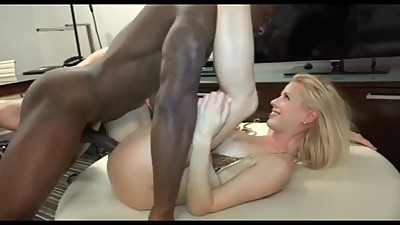 Skinny Swedish Blonde and BBC Creampie
