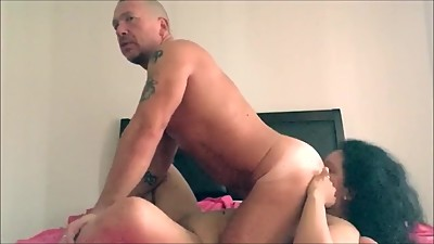 Ass rimming and licking the neighbor ass