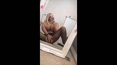 Sexy Black Pantyhose Ripped at the..