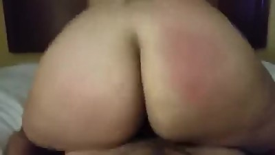 Amateur Couple Wife Reverse Cowgirl