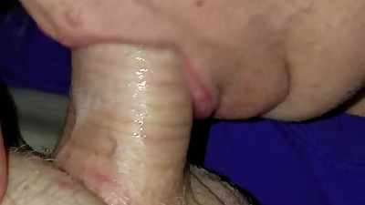 Curvy Carla sucks my dick like a pro