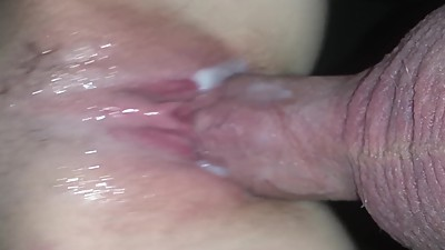 Making my wife's pussy cream
