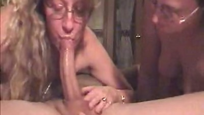 Double Deepthroat For Lucky Guy By..