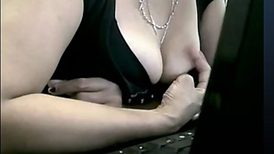 filipina milf gets hot and plays on cam
