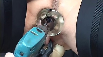 mature redhead gets her pussy toyed..
