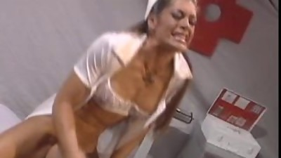 Nurse Aria getting fucked rough and..