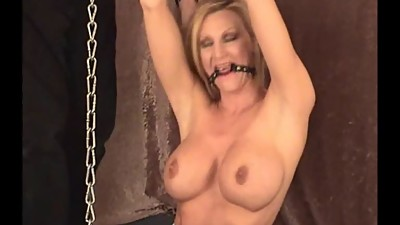 Sexy housewife bondage and damsel in..