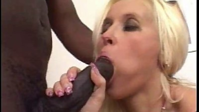 Blond (married?) Milf in boots fucks..