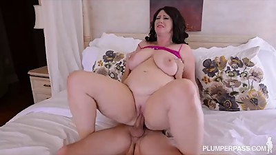 Plump Big Tit MILF Gets Fucked in the..