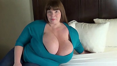 BBW With Massive Heavy Boobs