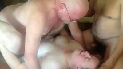 Mature Couple 3some