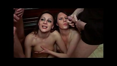 FRENCH CASTING 119 brunette and blonde..