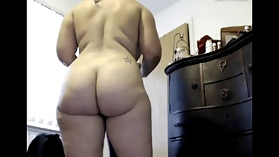 Big Butt in Shower - negrofloripa