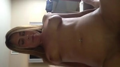 Blonde Milf's Quick Ride
