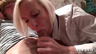 Amateur skinny mature hard banged