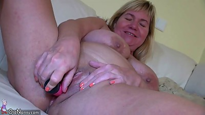 OldNanny BBW granny is very horny and..