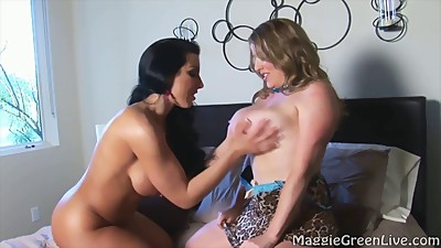 Brianna Pleasures Maggie In Busty Girl..