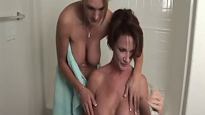 Mature Friends Bath