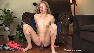 Small Breasted MILF Chloe Riding A Big..
