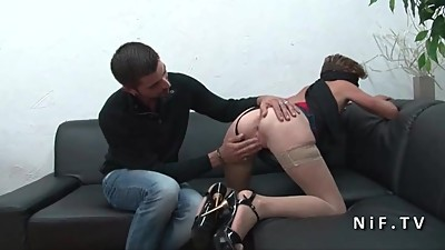 Small titted Mature french slut hard..