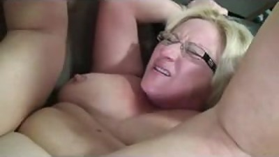 Chubby amateur mature fucked and..