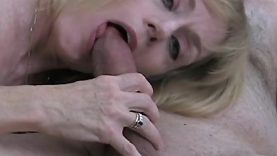 Amateur GILF Fucks The Pool Boy