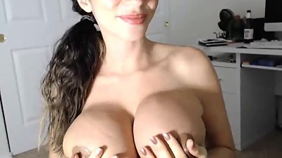 Ariella dripping cum from guys dick