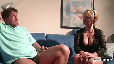 Big Tit MILF not mother Seduce to Fuck..