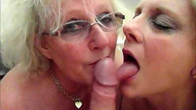 Claire Knight and Sexy Carol snowball..