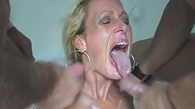 Amateur - Mature MMF Threesome CIM..
