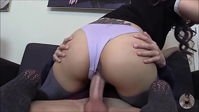 Blowjob and fuck with boyfriend at house