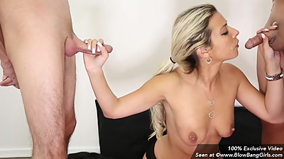 MILF Alana Luv Gives Multiple Blowjobs..