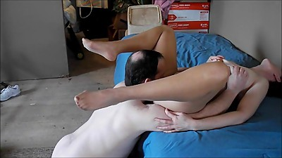 Pantyhose Tongue Fuck