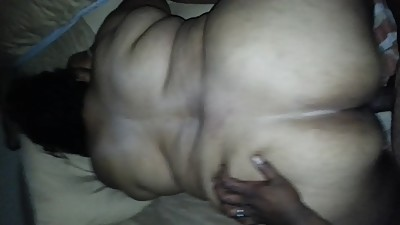 Redbone ssbbw getting the Bigvein