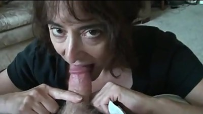 mature wife sucking small cock and..