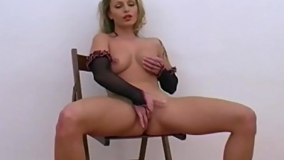 Blonde European Babe Solo Is Hot