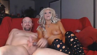 Hot Blonde Suck Huge Cock Deep In Her..